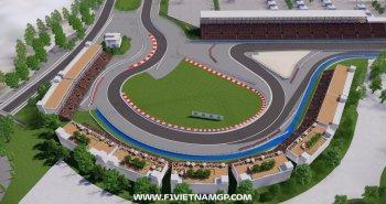 Công bố phối cành đường đua F1 tại Việt Nam