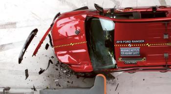 Ford Ranger 2019 trượt danh hiệu xe an toàn