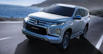 Phiên bản nâng cấp Mitsubishi Pajero Sport 2019 chính thức lộ diện