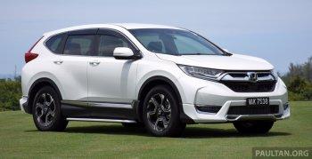 Thêm 7.000 xe Honda CR-V bị triệu hồi vì lỗi chốt cần số