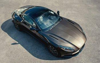 """Siêu xe """"điệp viên"""" Aston Martin DB11 V8 Kopi Bronze về Việt Nam"""