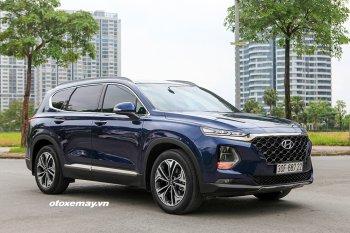 Hyundai Santa Fe lọt Top 10, Mitsubishi Xpander tụt thảm