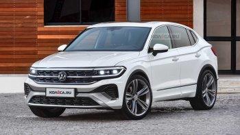Volkswagen Tiguan 2022 sẽ có kiểu dáng lai Coupe