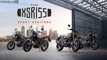 Yamaha XSR 155 phong cách retro chính thức ra mắt tại Thái Lan
