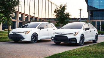 Toyota thêm phiên bản Nightshade Edition cho bộ đôi Corolla 2020