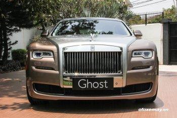 Giá xe Rolls-Royce Việt Nam cao nhất 54,3 tỷ đồng
