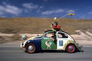 Volkswagen Beetle và trào lưu xe hơi nghệ thuật