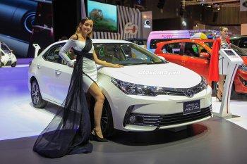 Toyota Việt Nam ưu đãi cho khách hàng mua xe Altis, Fortuner và Innova