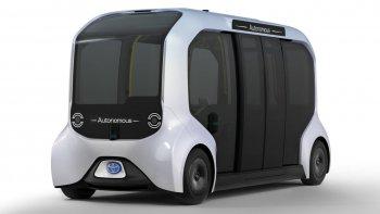 Nhật Bản đem xe tự lái đến Olympic 2020