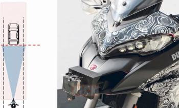 Ducati phát triển công nghệ Radar cho Multistrada 1260