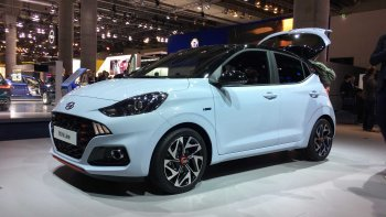 Frankfurt Motor Show 2019: Hyundai trình làng i10 phiên bản thể thao N Line