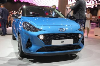"Frankfurt Motor Show 2019: Hyundai i10 ""lột xác"""