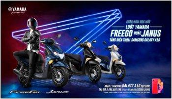 """Yamaha ưu đãi lớn cho sinh viên năm học mới: """"Sắm xe máy tặng smartphone"""""""