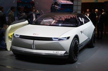 Frankfurt Motor Show 2019: Concept xe điện Hyundai kết nối quá khứ-tương lai