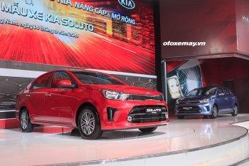 Kia Soluto hoàn toàn mới ra mắt với giá cạnh tranh, bắt đầu từ 399 triệu đồng