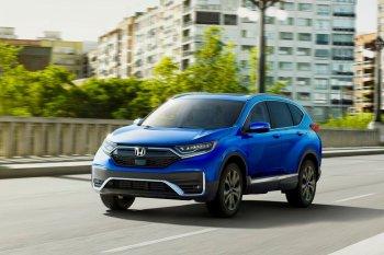 Honda CR-V hybrid 2020 ra mắt vào năm tới