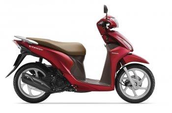 Honda Vision thêm 2 màu mới, giá không đổi
