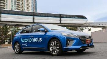 Hyundai thành lập liên doanh phát triển công nghệ tự lái