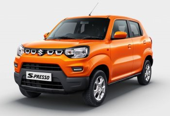 Xe cỡ nhỏ Suzuki S-Presso gây sốt tại Ấn Độ