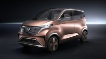 IMk Concept: Hướng đi mới trong thiết kế xe Nissan