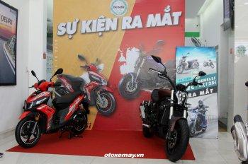 Benelli Việt Nam ra mắt xe ga VZ125i giá 30 triệu và cruiser-nakedbike 502C giá 166 triệu đồng