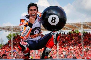 Marc Marquez đang trên đường xô đổ mọi kỷ lục MotoGP