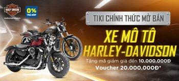 Rinh ưu đãi đến 30 triệu khi mua Harley-Davidson tại Tiki