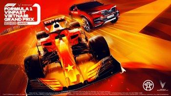 Chặng đua F1 đầu tiên tại Việt Nam đã có tên gọi chính thức