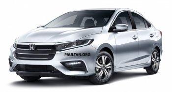 Honda City 2020 chuẩn bị ra mắt Thái Lan với động cơ mới