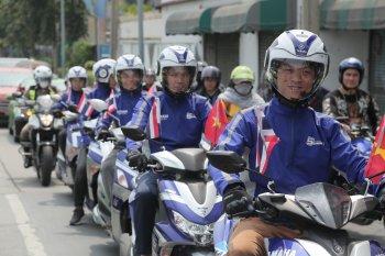 Cán mốc 2.500km trong hành trình xuyên Đông Nam Á, động cơ Yamaha Blue Core tiết kiệm xăng đến mức nào?