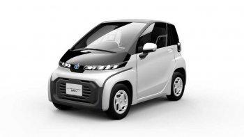 """Toyota vén màn xe điện """"siêu nhỏ"""" tại Triển lãm Ôtô Tokyo 2019"""
