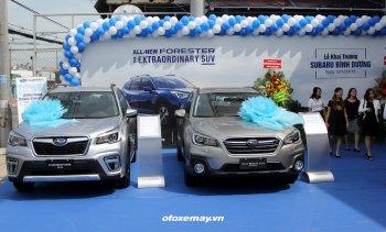 Subaru Việt Nam mở 3 showroom cung cấp phụ tùng nhanh, giảm giá xe 138 triệu đồng