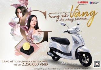 Mua Yamaha Grande nhận ngay vàng SJC 999