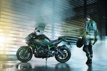 Nakedbike hiệu suất cao Kawasaki Z H2 chính thức ra mắt
