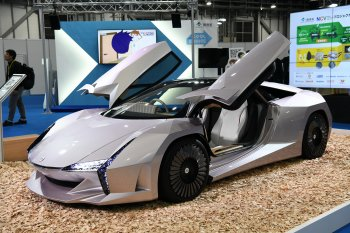 Siêu xe làm từ phế thải ra mắt Tokyo Motor Show 2019