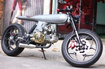 """Honda 67 Rocket Cafe: """"Quả tên lửa"""" độc nhất vô nhị từ bàn tay thợ Việt"""