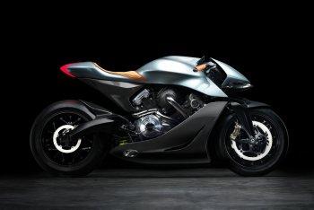 Aston Martin vén màn mẫu môtô đầu tiên giá 120.000 USD