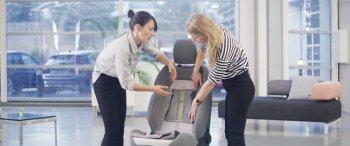 Ford sản xuất bọc ghế ngồi nhờ kỹ thuật dệt kim 3D