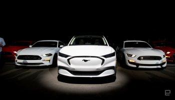 Ford vén màn xe điện lấy cảm hứng từ Mustang
