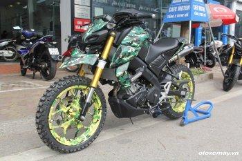 Naked bike giá rẻ - Yamaha MT-15 biến hóa lạ mắt với những gói độ chính hãng