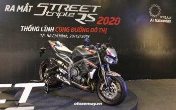 """""""Chiến binh đường phố"""" Triumph Street Triple RS 2020 giá 435 triệu đồng"""
