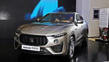 SUV hiệu suất cao Levante Trofeo giá khoảng 14 tỷ tại VN