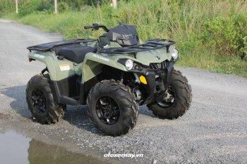 Can-Am Outlander 2020: Xe ATV cho dịch vụ off-road ngày Tết
