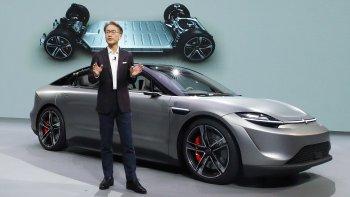 """Sony """"trình làng"""" concept xe tự lái tại CES 2020"""