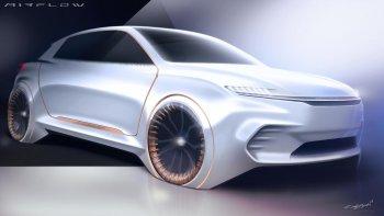 FCA Airflow Vision: Xe hơi của tương lai