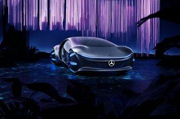 CES 2020: Mercedes-Benz Vision AVTR đánh thức trí tưởng tượng