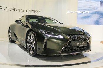 Cận cảnh phiên bản đặc biệt của dòng xe Lexus LC500 2020