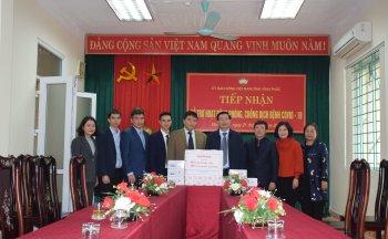 Honda Việt Nam cùng người dân Vĩnh Phục đẩy lùi Covid-19