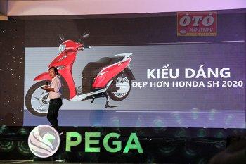 Pega sử dụng hình ảnh so sánh xe eSH với Honda SH liệu có phạm luật ?