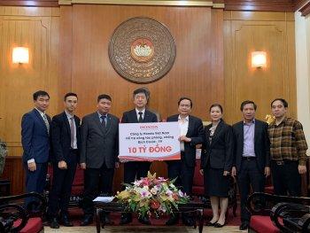 Honda Việt Nam đồng hành cùng Chính phủ đẩy lùi Covid19